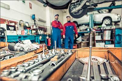 Kontrolle des Turboladers