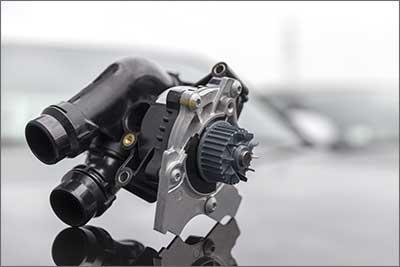 Turbolader ausgebaut zur Reparatur