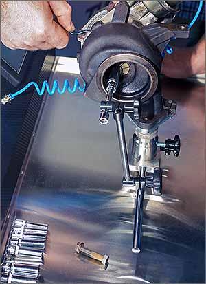 Turbolader Reparatur
