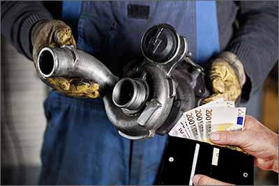 Turbolader Wartung Kosten